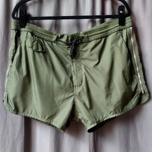 MARC JACOBS Men's Swim Trunks in Khaki Green US XL